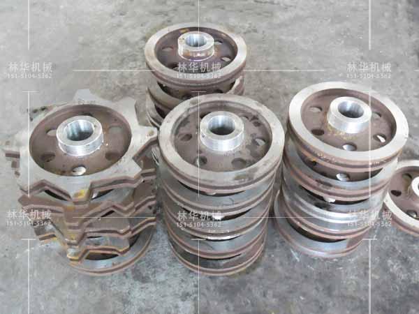 精密加工铸钢链轮